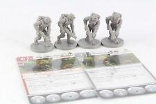 Star Wars Miniatures Trandoshan Hunter x 4 Imperial Assault Group Core Set