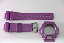 CASIO G-Shock DW-6900NB-4V Original PURPLE Metallic Band  Bezel Combo DW-6900