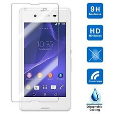 TEMPERED GLASS SCREEN PROTECTOR ANTI SCRATCH For Sony Xperia E4 UK FREE DISPATCH