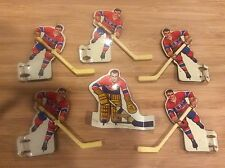 1960's Eagle Toys Table Hockey Players - Montreal Canadiens
