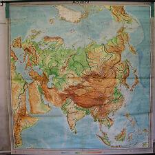 Scheda crocifissi Muro Carta schulkarte Asia Asia Cina 1962 Roll carta 206x216 Map