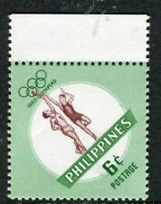 PHILIPPINES;  1960 early Olympics issue Mint MNH Unmounted 6c.