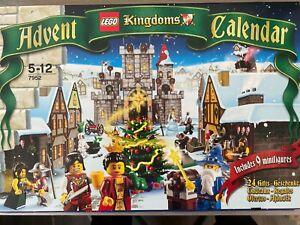 Lego Advent Calendar 2010, Kingdoms BOX SEALED RETIRED New 7952 LL235
