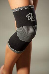 LOREY - Hochwertige Kniebandage aus Viskose, Kniestütze, Knieorthese