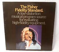 The Fisher Fidelity Standard High Fidelity Test Vinyl Record LP NM
