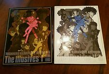 Toshihiro Kawamoto The Illusives 1985-1995 & 1996-2005 Japan ANIME ART BOOKS