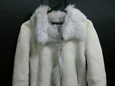 Auth JOSEPH Gray Mouton Women's Coat #36