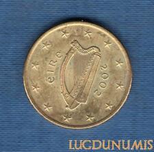 Irlande 2002 50 Centimes d'Euro SUP SPL Pièce neuve de rouleau - Eire