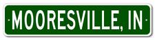 MOORESVILLE, INDIANA  City Limit Sign - Aluminum
