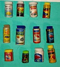 Dollhouse Miniature Aquarium Pet Fish Food 1:12 Animal Goldfish Medicine Treat