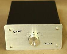 Dynavox AUX-S Eingangs-Erweiterung/Umschalter für 5 analoge Quellen / silber
