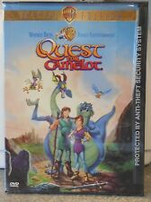 Quest For Camelot (DVD, 1998) RARE BRAND NEW ORIGINAL SNAPCASE VERSION