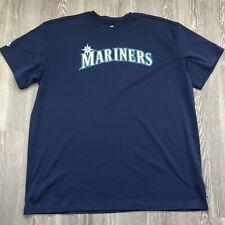 Seattle Mariners Majestic Cool Base wicking T Shirt Size 2XL