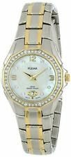 Pulsar Women's Quartz Crystal Accents Two Tone Stainless Steel Watch PXT798