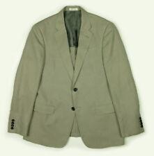 Armani Collezioni Linen Blend Sport Coat Men's 38 Light Taupe