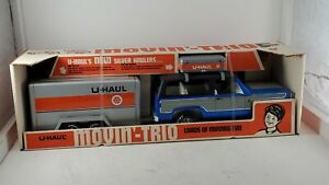 1970s Nylint U-Haul Movin Trio #4158 Brand New In Original Box Very Nice Toy