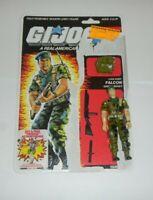 1987 GI Joe Falcon v1 Army Green Beret Figure w/ File Card Back *Not Complete