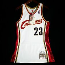 100% Authentic Lebron James Mitchell & Ness Cavs Cavaliers Home Jersey 36 S
