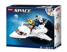 Space Shuttle Model Building Blocks Set For Kids Compatible with Lego Brand