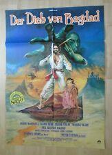 Filmplakat - Der Dieb von Bagdad ( Kabir Bedi , Peter Ustinov )