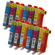12 cartucce HP AS-920XL Colore per OFFICEJET  6000 6500 A Officejet 7000 7500 A