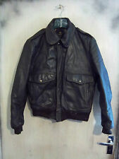 VINTAGE 60'S COOPER USA LEATHER A2 FLYING JACKET 40 TALON ZIP