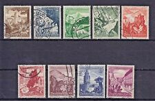 1938 German:Third Reich, Winter Relief Fund , Set of of 9 , Used , SG663-671