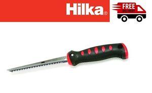 """Hilka New 6"""" Drywall Jab Saw - Soft Grip Handle Hard Point Drywall Pad Saw"""