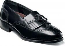 Florsheim Mens Lexington Wingtip Tassel Loafer Leather Black Lightweight shoes