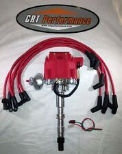 AMC V8 290-401 GM HEI Distributor RED & RED PLUG WIRES *CRT PERFORMANCE QUALITY*