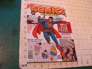 High Grade COMIC magazine: COMIC SCENE issue #7: Jan 1983 teen titans Elfquest