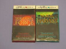 2 Left Behind audiobooks: Tribulation Force & Soul Harvest