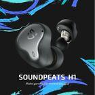 SoundPEATS H1 Hybrid Dual Drivers Bluetooth 5.2 Earbuds Wireless Earphones