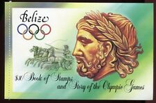 Belize 1984 Olympiade Olympics Sport Markenheft 752-755 Postfrisch MNH