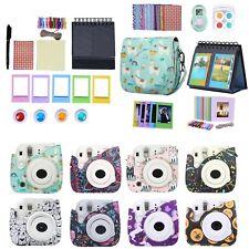 Fujifilm Instax Mini 9 8 8+ Case Strap Bundle Camera Starter Kit Value Gift Set