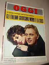 OGGI=1964/37=LIZ TAYLOR=ALGHERO SCALA PICCADA=FUBINE=MANARA VALMIGLI BERTO G.