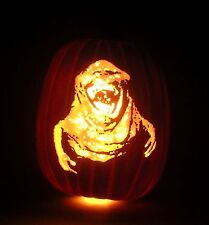 "30th Anniversary GHOSTBUSTERS Slimer (Hand-Carved Foam Pumpkin 12"")"