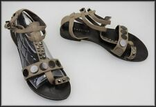 Buckle Medium (B, M) Geometric Sandals & Flip Flops for Women