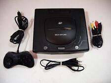 Console Sega Saturn black noire PAL Loose