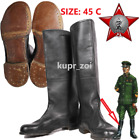 SIZE 45 C WW2 DAILY Soviet field Leather Army GENERAL Boots CALFSKIN