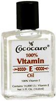 Cococare 100% Vitamin E Oil, 0.50 oz (Pack of 2)