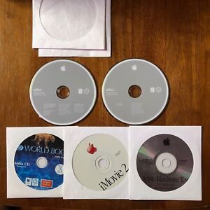 Mac OS 10.3.4 (Panther) Install/Restore CDs for eMac 2004 - Complete Set