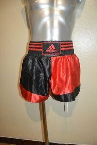 Shorts Kickboxing ADIDAS Size L/180 Mma Thai Boxing Free Fight New