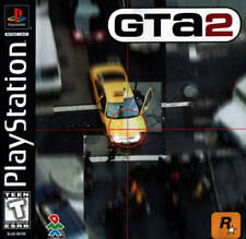 Grand Theft Auto 2 - PS1 PS2 Complete Playstation Game