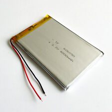 3.7V 4000mAh LiPo Polymer rechargeable Battery For Power Bank Tablet PC 606090