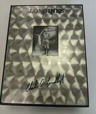 Charles Lindbergh Longines Collection Presentation Box with White Flight Cap