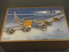 Tin Toy - B17 Flying Fortress Plane - Wind Up