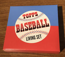 2018 Topps Living Set EMPTY Box With Foam LOT OF 6