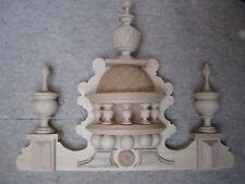 beautiful natural clock top / crown for a Vienna (?) Regulator clock Freeswinger
