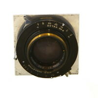 Vintage Bausch & Lomb 210mm E.F. f/4.5 Tessar Ic in Betax No.4 Shutter - UG